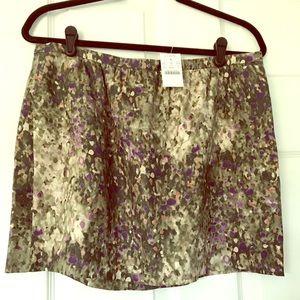 J Crew mini skirt